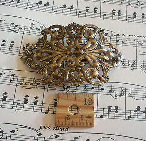 Large-Vintage-Brass-ox-bronze-Fancy-Belt-Buckle-BR-4