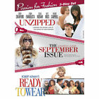 Passion for Fashion: Unzipped/The September Issue/Ready to Wear (DVD, 2012, 3-Disc Set)