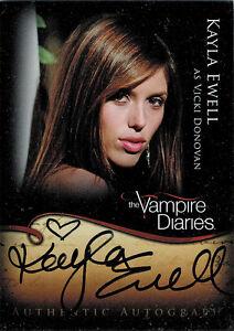 Cryptozoic-2012-Vampire-Diaries-A16-Kayla-Ewell-as-Vicki-Donovan-Autograph-Card