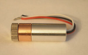 2W-445nm-M-Type-M140-Blue-Laser-Diode-Copper-Module-W-Leads-amp-Aixiz-Glass-Lens