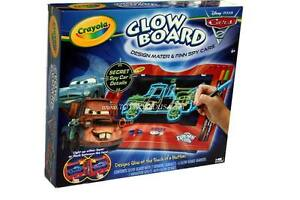 image is loading crayola disney cars 2 glow board design mater
