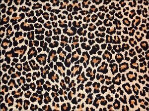 Brown leopard print a4 icing sheet cake topper edible for Animal print edible cake decoration