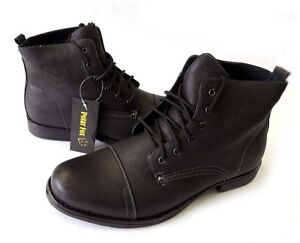 Military Style Patent Leather Shoes