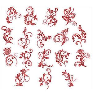 Abc designs spirited herbarium 17 machine embroidery for Embroidery office design version 7 5