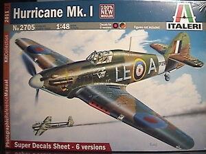 1/48 Hawker Hurricane Mk.I New Italeri Kit