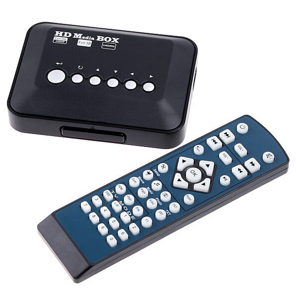 Multi TV Media Player HDMI 1080P HD USB SD MMC RMVB MP3 AVI MPEG Divx MKV