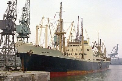 mc0776 - Greek Cargo Ship - Aegis Power , built 1954 - photo 6x4