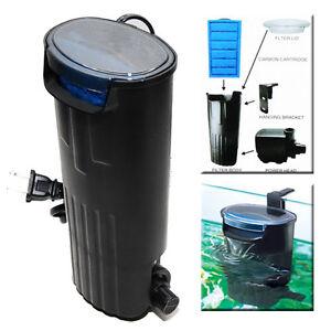 Aquarium terrarium waterfall in tank power filter 10 15 for Best fish tank filter
