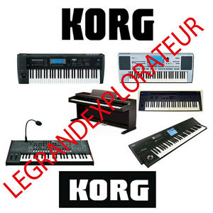 Ultimate-KORG-Repair-Service-amp-Schematics-Manuals-PDFs-manual-s-on-DVD