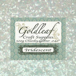 CRAFT-GLITTER-IRIDESCENT-500g-Chunky-040