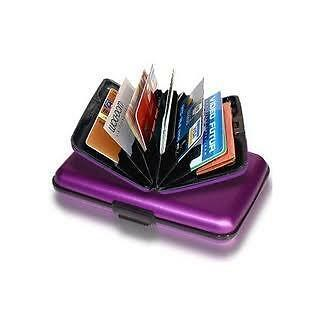 Aluma Wallet aluminum Card Guard Protection Wallets