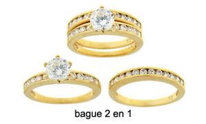 Bague-T54-Alliance-2-en-1-Diamant-Cz-7mm-Plaque-OR-18K-de-Dolly-Bijoux