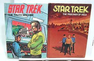 1977 Lot 2 STAR TREK Books TRUTH MACHINE PRISONER VEGA