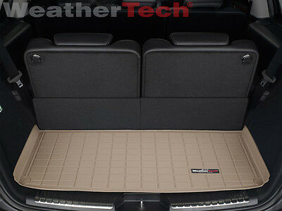WeatherTech Trunk Cargo Liner for Mercedes GL-Class - 2007-2012 - Small - Tan