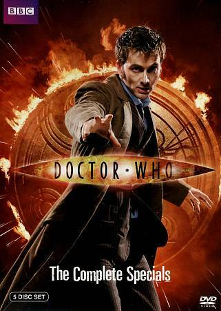 Doctor Who: The Complete Specials [5 Discs] DVD Region 1, NTSC