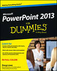PowerPoint 2013 For Dummies by Doug Lowe (Paperback, 2013)