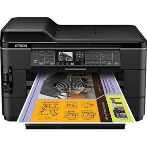Epson WorkForce WF-7520 All-In-One Inkjet Printer