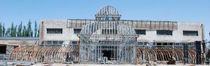 MONUMENTAL-ESTATE-HAND-MADE-CUSTOM-IRON-GAZEBO-SOLARIUM-CONSERVATORY-LC1