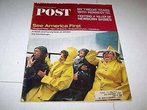 AUG-18-1965-SATURDAY-EVENING-POST-magazine-NIAGARA-FALLS-TOURISTS