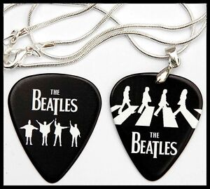 The-Beatles-Guitar-Pick-Silver-Necklace-Matching-Pick