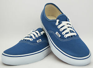 Vans-Authentic-NAVY-Mens-Canvas-Sneaker-Shoe