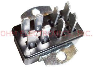 Jones-Plug-Connector-8-Pin-Male-P-308-AB-Angle-Bracket-Chassis-Mount