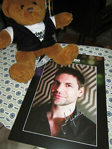Gale-Harold-Autograph-incl-1-official-Teddy-of-Rise-039-n-Shine-Cologne-2012