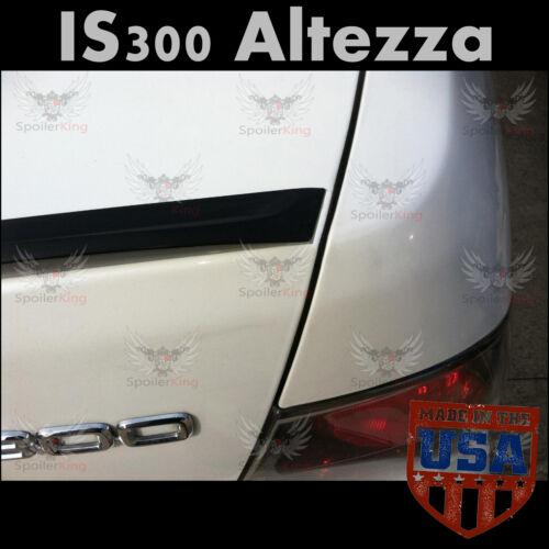 Lexus IS300 2000-2005 Altezza Roof Wing /& Trunk Lip Spoiler COMBO Unpainted