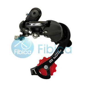 New-Shimano-Tourney-RD-TZ50-Bike-Cycling-Rear-Derailleur-GS-7-6-speed-with-bolt