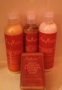 Shea Moisture Argan Oil And Raw Shea Conditioner