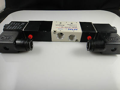 4V230C-08 DC 12V 3 Position 5 Way Air Solenoid Valve