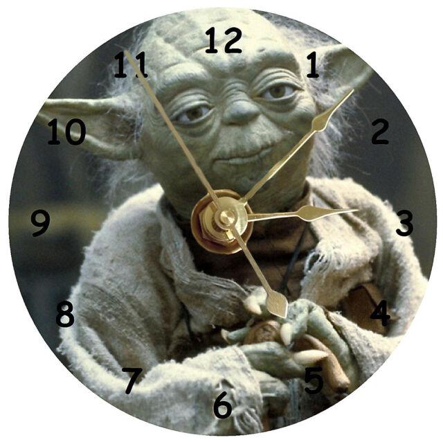 NEW Star Wars Yoda CD Clock