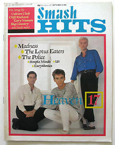 Heaven-17-Annie-Lennox-The-Police-Lotus-Eaters-Robert-Plant-Madness-Gary-Numan