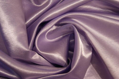 Lilac or Black Satin Backed Synthetic Dupion Dressmaking Fabric for Bridal//Prom