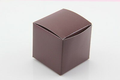 2''Cube Wedding Bridal Baby Shower Party Favor Treat Candy Gift Boxes 2x2x2 100x