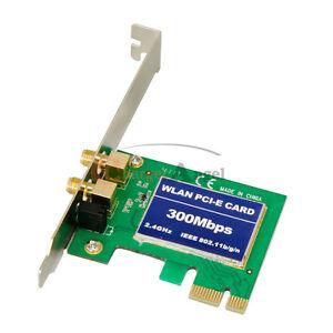 300Mbps-PCI-E-WIRELESS-LAN-CARD-WIFI-802-11b-g-n-WLAN-Adapter-WI-FI