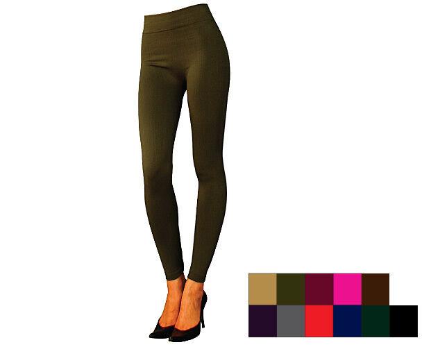Warm Fleece Lined Thermal Seamless Winter Leggings Bike Pants Queen Size 2XL 3XL
