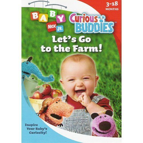 Curious Buddies: Lets Go To The Farm (DVD