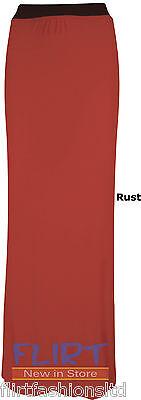 Womens Long Gypsy Maxi Skirts Ladies Stretch Full Length Skirt Dress 8 10 12 14