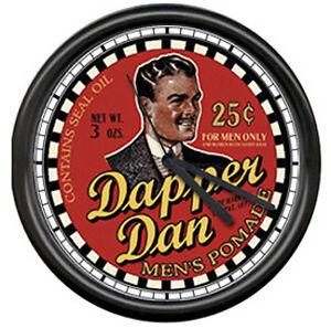 Dapper-Dan-Barber-Shop-Hair-Pomade-Sign-Wall-Clock