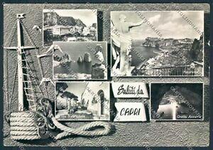 Napoli-Capri-STRAPPO-Saluti-da-Foto-FG-cartolina-D6218-SZD