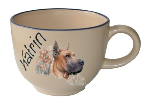 Jagd Dackel Dalmatiner Dogge Hunderasse C-G Jumbo Namenstasse Kaffee Tasse