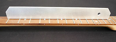 "Luthier tool, 13"" precision straightedge for checking relief on guitar setup"