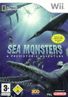 Sea Monsters - A Prehistoric Adventure (Nintendo Wii, 2008, DVD-Box)