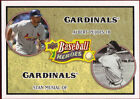 2008 Upper Deck Heroes Stan Musial/ Albert Pujols St Louis Cardinals #178 Baseball Card