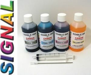 EDIBLE-INK-REFILL-SET-FOR-CANON-PRINTERS-4-x-100ml