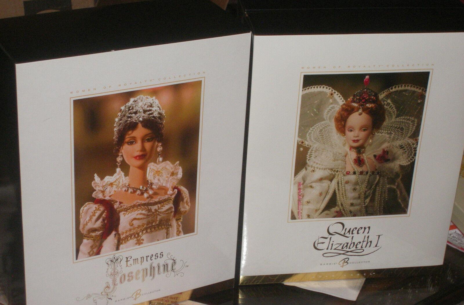 En caja original Empress Josephine Barbie en caja original con difícil de encontrar la reina Isabel