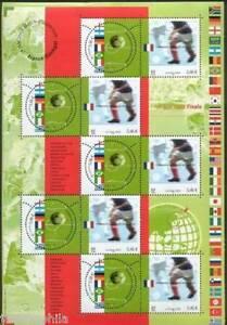 STAMP-TIMBRE-FRANCE-NEUF-BLOC-N-49-SPORT-CHAMPIONNAT-DU-MONDE-FOOTBALL