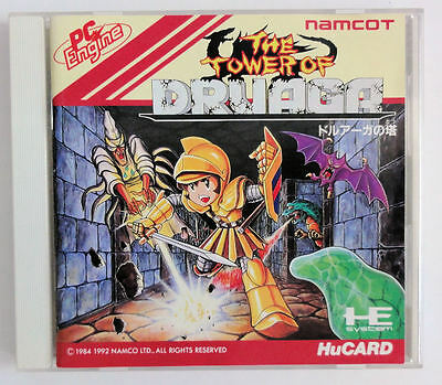 THE TOWER OF DRUAGA * PC Engine JPN Import