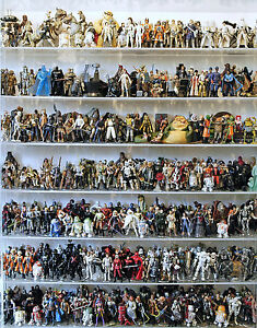 Star-Wars-The-Ultimate-Action-Figure-Collection-Lot-1-950-Loose-Figs-From-Book